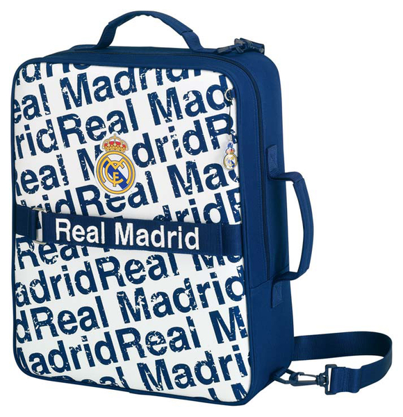 real madrid sporttasche trolley ronaldo koffer gro g nstig. Black Bedroom Furniture Sets. Home Design Ideas